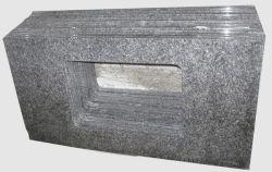 Hoge Kwaliteit China Ice Blue Granite Vanitytop Voor Keuken Badkamer