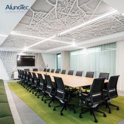 Дизайн перфорированные квадратных алюминиевых композитных панелей для украшения на потолке