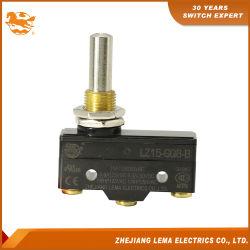 Lz15-GQ8-B à montage sur panneau de micro-interrupteur de plongeur long de la CCC Homologations UL CE