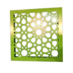 Современные шторки стены декоративных материалов лазерной резки алюминия Резные панели