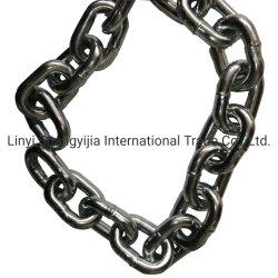 Le zinc métal galvanisé soudés courte chaîne de liaison pour le levage