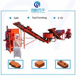 Cy2-10 Le sol de ciment La fabrication de briques de verrouillage de l'argile Machines / brique de terre caler la machine