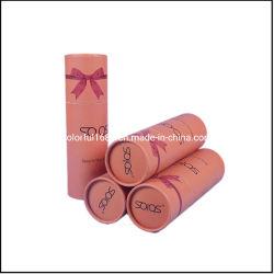 L'abitudine il vostro tubo riciclato della carta kraft Del commestibile del commercio all'ingrosso di marchio può per il tubo impaccante del tè