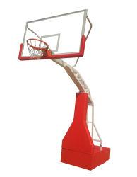 Obiettivo idraulico imitato portatile esterno di pallacanestro della strumentazione di sport di pallacanestro da vendere