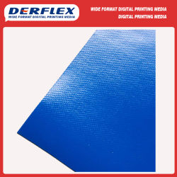 China tecido revestido de PVC PVDF de fábrica para a membrana de estrutura de tracção