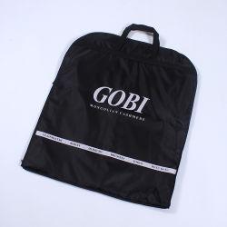 Не высокого качества из тончайшего складывание одежды черного цвета в соответствии с мешок для зерноочистки
