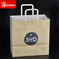 personalizado Branco pesado saco de papel kraft em cores
