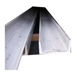 건물 재질 Slotted Unistrut C 단면 스테인리스 강 채널