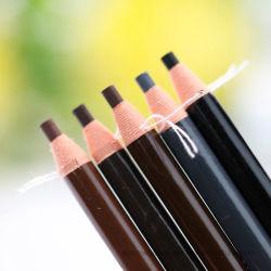 5 cores de cosméticos do rolo de papel à prova de Longa Duração Eyeliner Lápis para sobrancelhas