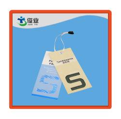 Jeans Colorful Paper Garment Hangtags/Labels, Customize Swing Tag Garment Paper Hangtag