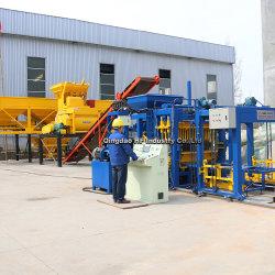 Grande linea di produzione Qt5-15 cemento concreto automatico che collega il blocchetto vuoto del mattone che fa macchina da vendere