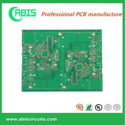 "2 U "" 전자 분야에서 이용되는 녹색 잉크를 가진 침수 금 PCB"