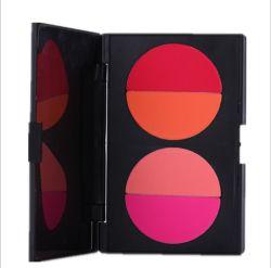 Mode de gros coussin Four-Color Blush maquillage Poudre rouge japonais