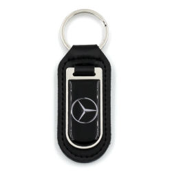 Promotion de la chaîne de clés en cuir personnalisé Benz Fournitures bande 3D multi outils en plastique