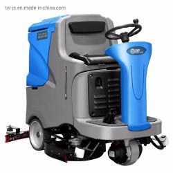 T-850d Ride-on de la máquina de limpieza de suelos, Ride-on Limpiasuelos