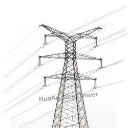 Torretta estrema del ferro galvanizzata 800kv di tensione della trasmissione di energia elettrica