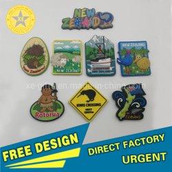 Cadeaux Personnalisés promotionnel de haute qualité en PVC souple en caoutchouc de l'animal en 3D'un réfrigérateur Fridge Magnet PVC coloré