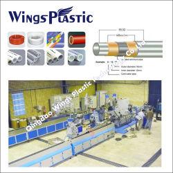 Pex-Al-Pex Plastikrohr Maschinen-/Pex-Al Rohr-Strangpresßling-Zeile