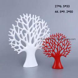 Cores Personalizadas Polyresin Lucky Tree Decoração de mesa decoração do escritório