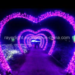 Рождество мигания ламп свадьбы оформление светодиодный индикатор частоты сердечных сокращений на праздник