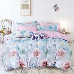 Impressão Mandala preto 3PCS Calking Edredão cobrir cama confortável cama de folhas configurado