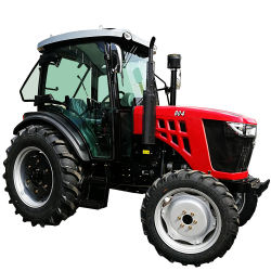 Tracteurs agricoles Huabo 4RM 55HP 60HP 65HP 70HP, 75HP tracteur agricole 80HP