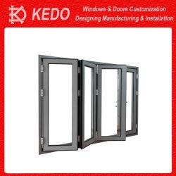 2019 Hot Jardin de pliage des portes en verre et du sol au plafond aveugle en aluminium pour la vente de Windows