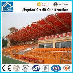 Neuer Entwurfs-vorfabriziertes FertigEdelstahl-Rohr-Binder-Zelle-Rahmen-Stadion-Produkt-Aufbauen