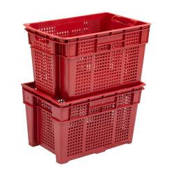 Grado de ventilación/Meshfood cajas de frutas y hortalizas de plástico