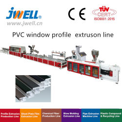 Jwell WPC/PVC/UPVC Profile Producing machine Windows Profile Making machine