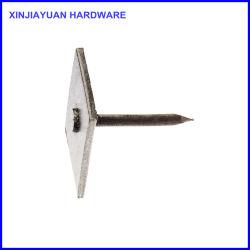 Bouchon carré en métal galvanisé de clou de maçonnerie