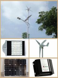 좋은 가격 옥외 낮은 힘 20W 30W 50W 60W 바람 태양 잡종 LED 가로등