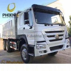 熱い販売SinotruckはHOWOのダンプトラックの使用された6X4ダンプカートラックの371HPによって使用されたトラックを使用した