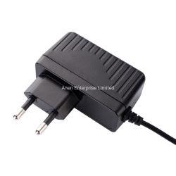 O GS com certificação CE VERTICAL UE Plug 24 Watts Max Power Adapters 2A 12 Volts Transformador de Parede 24 Volt 1um transformador de parede 18V 1,2A alimentação eléctrica comutável
