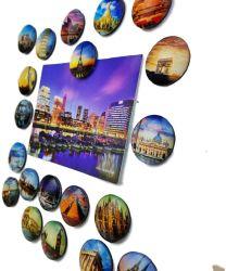 Custom Planetaire Koelkast Koelkast Magnets Crystal Glass Koelkast Stickers