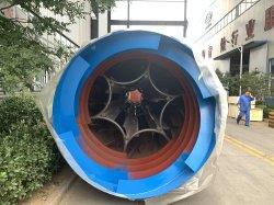 Maior Serradura secador rotativo de secagem de alta eficiência de serradura tornando Pellet