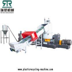 Enrouler le film de l'Agriculture Ferme de sacs de Film machine de recyclage de film PE PP Film usine de granulation