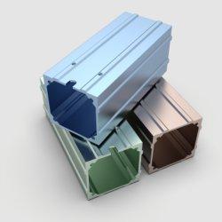 Rivestimento in polvere anodizzato a colori estrusione industriale in lega di alluminio/alluminio Profilo