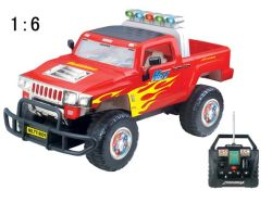 1:6 del Hummer dell'automobile di RC (9001A)