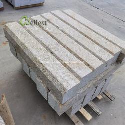 G682 de granito amarillo de la frontera de borde borde biselado bloques de piedra