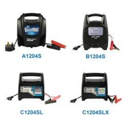 Ftpower 1204s оптимальное соотношение стоимости и продажа автоматических свинцовых автомобильного аккумулятора зарядное устройство с маркировкой CE и RoHS 12V 4A