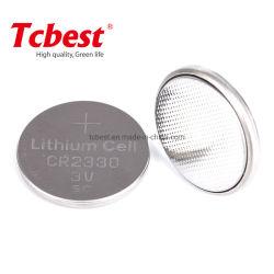 Batterij van het Lithium van de Cel 3V Cr2330 van het Muntstuk van de Knoop van de Batterij Cr2330 van de Prijs van de fabriek Non-Rechargeable