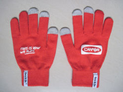 Fabrication de gants de cadeau de promotion de la mode Écran tactile Gants Gants tricotés