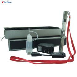 Gesunde Vaporing e-Zigarette, EGO F3-elektronische Zigaretten-rotes Schwarzes