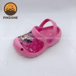 Tamancos de plástico Planta Crianças Piscina Meninas Sandálias sapatos de jardim-de-rosa