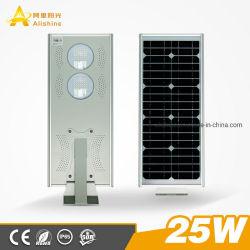 im Freien integriertes einteiliges Solarstraßen-Garten-Licht der bewegungs-25With30With40With50With60With80With100W des Fühler-LED