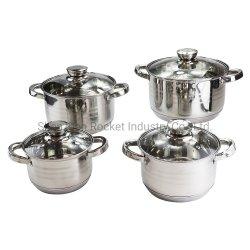 Capsuled индукционная плита нижней части из нержавеющей стали посуда для приготовления пищи,