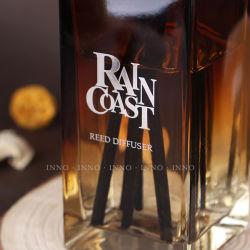 لون رشّ زجاجة يملأ مع [150مل] قصب ناشر مع خشبيّة حقيرة صلبة صنع وفقا لطلب الزّبون علامة تجاريّة