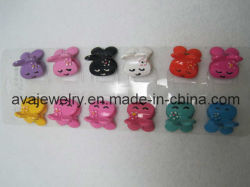 Moda cabelos de crianças animais coloridos Ornament (CLD-196)
