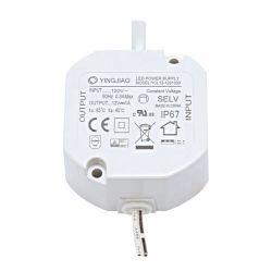IP67 all'ingrosso impermeabilizzano figura del driver costante della corrente LED del rifornimento di corrente continua Del driver 12W del LED 350mA 500mA 700mA la mini